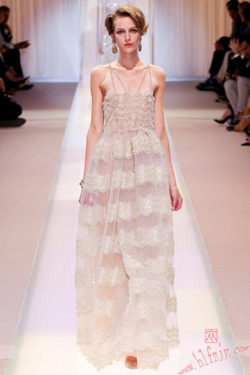 巴黎秀场绝美高级定制礼服10|服装设计学校|深圳华联