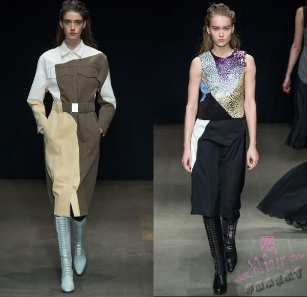服装设计向纽约看齐