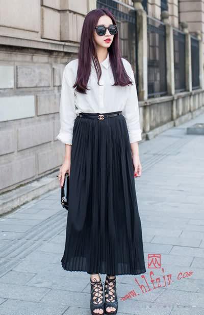 半身长裙如何搭配才好看|最好的服装设计学校时尚潮流