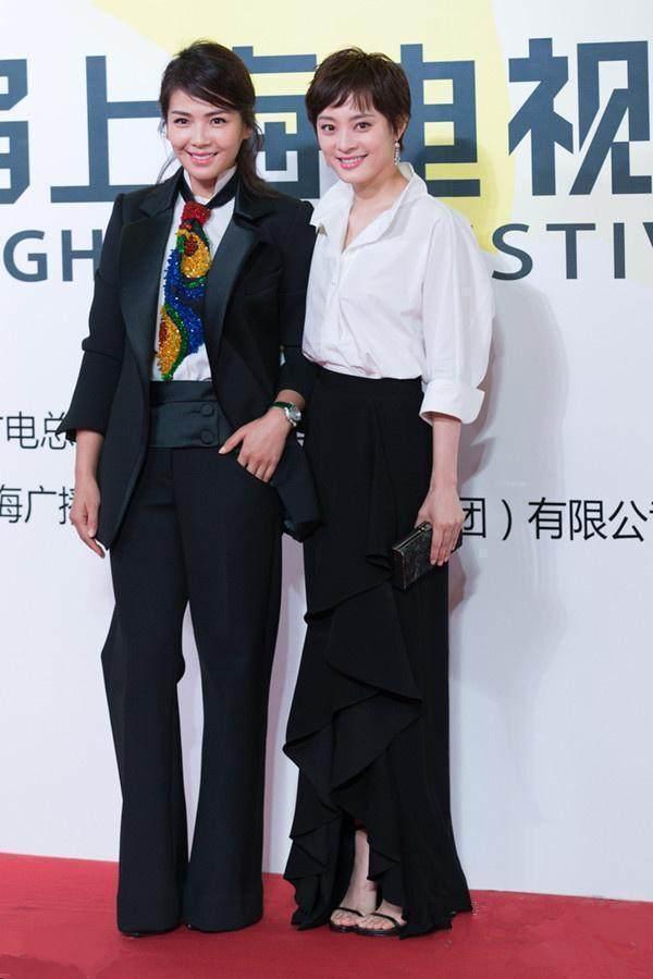刘涛与孙俪相差四岁,穿衣搭配却差十万八千里!