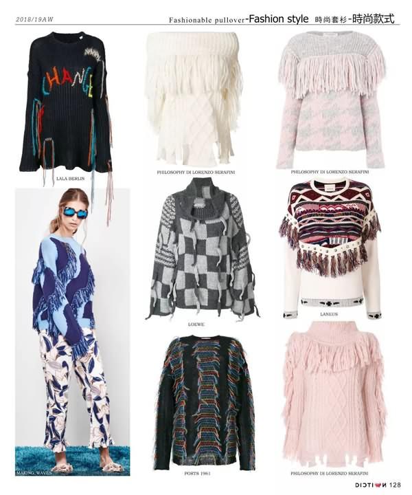 单品趋势 2018 19秋冬流行的毛衫款式
