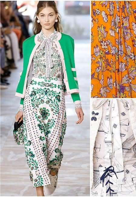 元素混搭等等,深圳服装设计学院为你介绍 2017春夏纽约时装周图案流行
