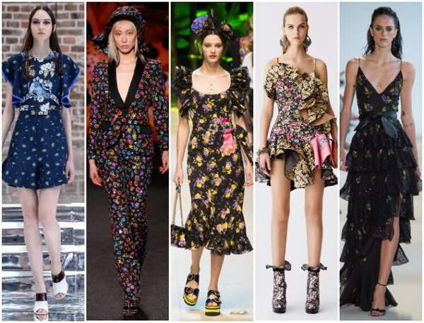 2017-2018最新服装图案,服饰图案流行趋势