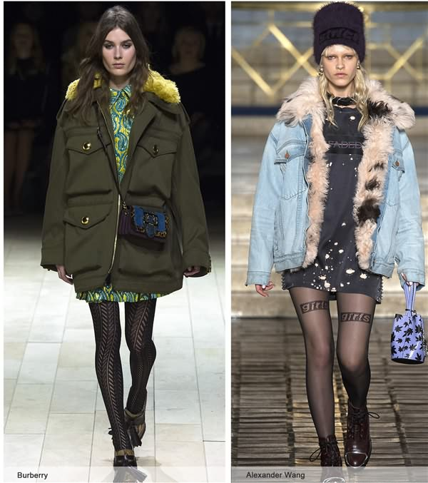 2017/2018秋冬夹克,外套,大衣流行款式预测图片