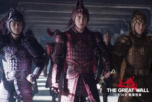 电影《长城》发布服装设计特辑