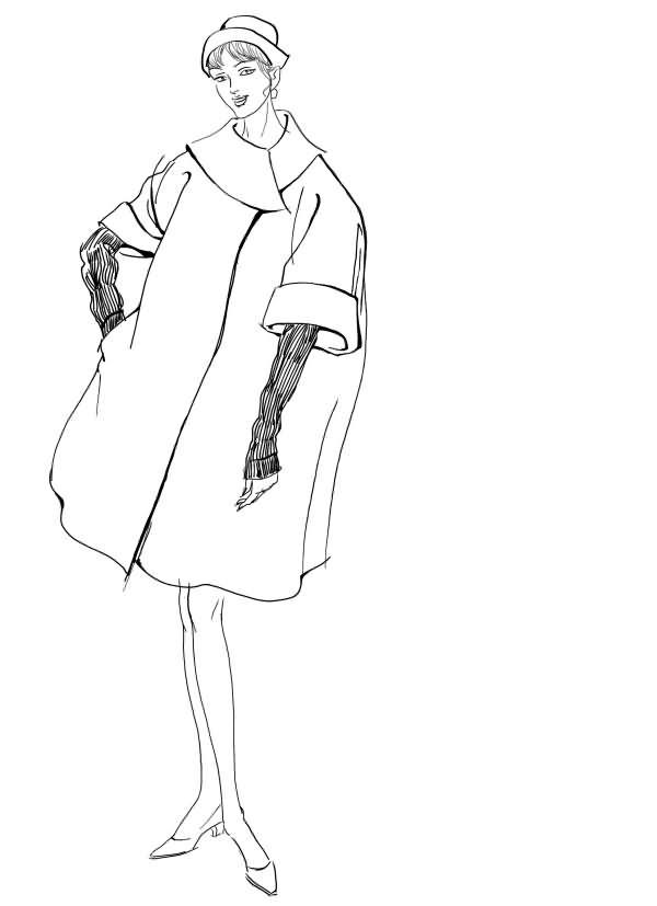 服装设计手稿7