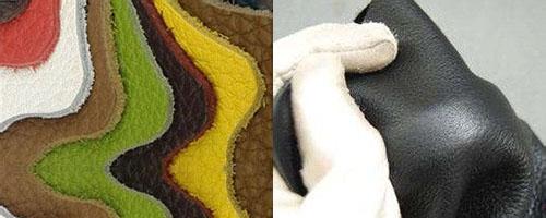 真皮就是将动物的表皮剥下来